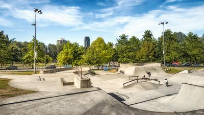 Skateboard & BMX Jump Park