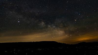 Fireflies on the Milky Way