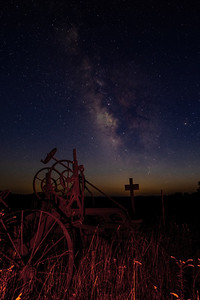 Plowing the Milky Way