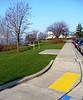 november sidewalk and new sod