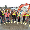 Ground Breaking Ceremony - Photo taken by Don Coyote, La Conner Weekly News