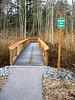 Boardwalk on Magrath Corridor - 6ft. Wide<br /> Crossing largest Wetland