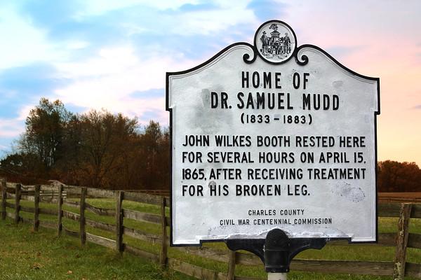 Dr Mudd House_HistoricMarker