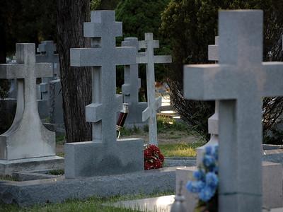 Russian cemetery Russian Orthodox Convent Novo-Diveevo Nanuet, New York