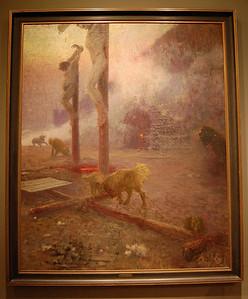 "The ""Golgotha"" of Ilya Repin  Art Museum, Princeton University, NJ, USA Репин Илья Ефимович, «Голгофа»."