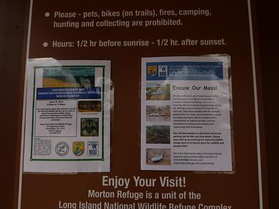 At the Elizabeth A Morton National Wildlife Refuge.