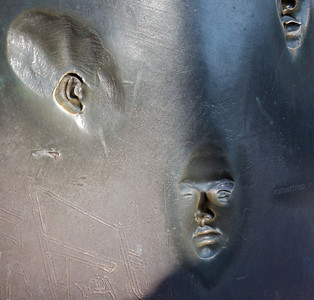 "Hearing and Talking Franklin Delano Roosevelt Memorial ""Social Programs"" Sculptor Robert Graham"