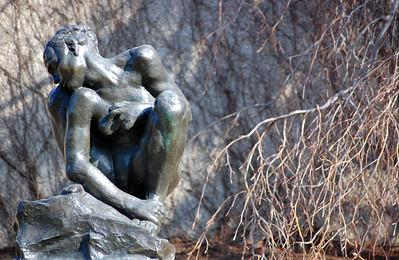 Crouching Woman Auguste Rodin