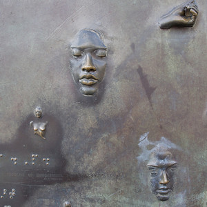 "Franklin Delano Roosevelt Memorial ""Social Programs"" Sculptor Robert Graham"