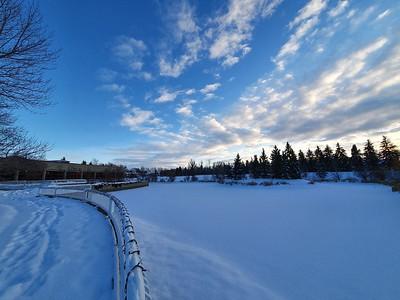 Alexandra Park in Winter