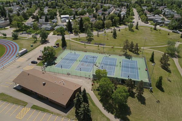 Kinsmen Sports Park - Aerial Photo