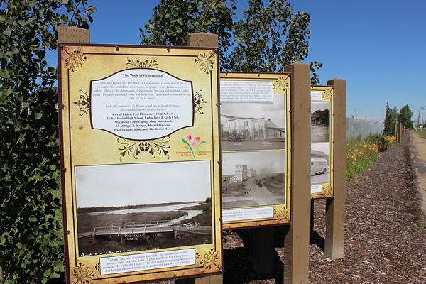 Walk of Generations Signage