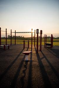 William F Lede Park - Outdoor Fitness Equipment