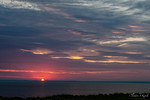 Sunrise over Long Island Sound