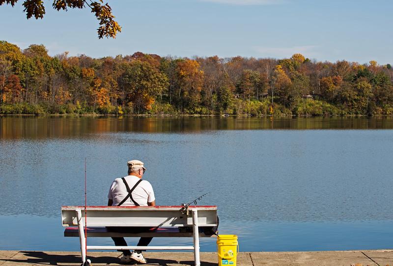 The Fisherman<br /> Hueston Woods, Ohio