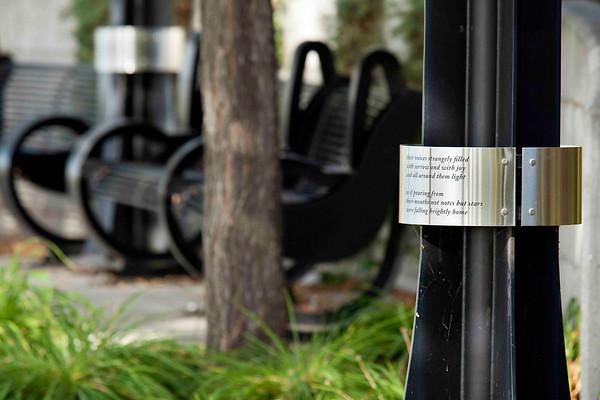 Louise McKinney Park - Poetry Ring
