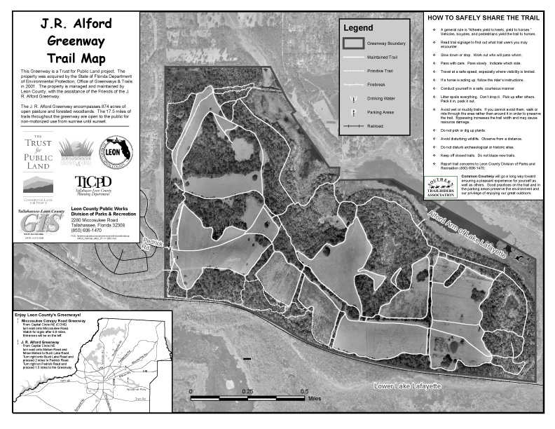 ALFORD GREENWAY PARK: This 2006 map is downloadable as a PDF here.