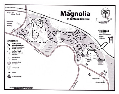 Magnolia Trail Map