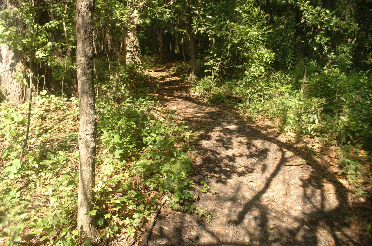 Short uphill from RR grade.