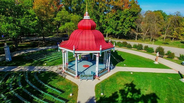 The Music Stand in Tower Grove Park
