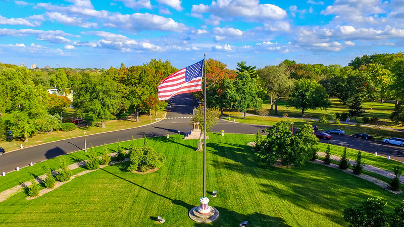 Old Glory in Tower Grove Park