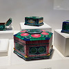 "The technique of creating a design using inlaid polished materials is called INTARSIA.<br /> <br /> Nicolai Medvedev created these exceptional intarsia boxes using everything from malachite to dinosaur bone.<br /> Natural History Museum in Balboa Park, San Diego Featuring ""ALL THAT GLITTERS"" - The Splendor & Science of Gems & Minerals.<br /> Exhibition Highlights:<br /> <a href=""http://www.sdnhm.org/archive/exhibits/allthatglitters/highlights.php"">http://www.sdnhm.org/archive/exhibits/allthatglitters/highlights.php</a><br /> ***Photos taken without flash through glass/plexiglass"