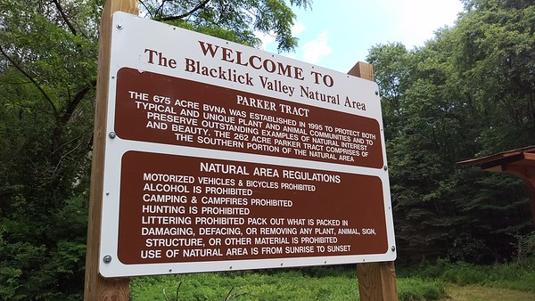 Welcome the the Blacklick Valley Natural Area