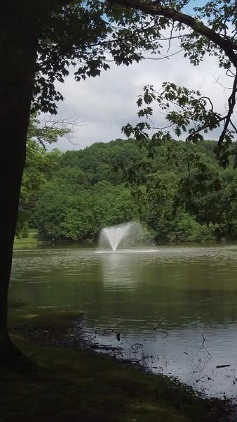 Blue Spruce Park Fountain