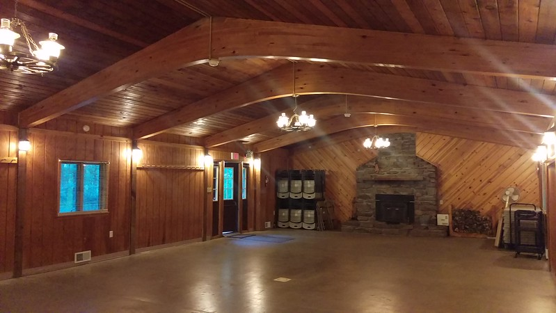 Interior View of Blue Spruce Lodge