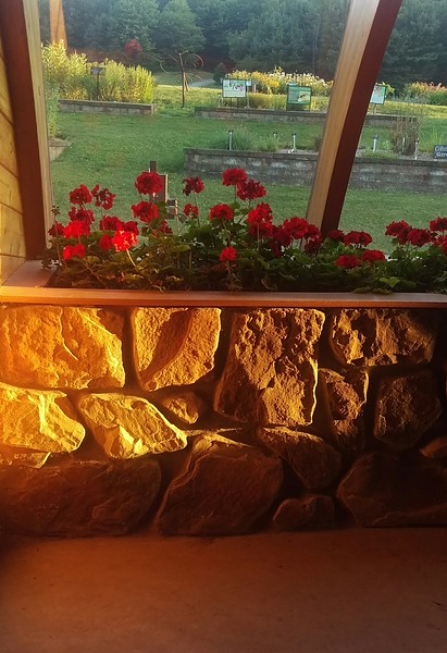 Sunset in the Sunroom