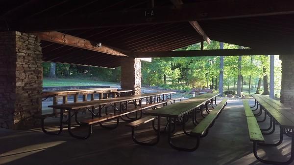Pavilion #1 at Blue Spruce Park