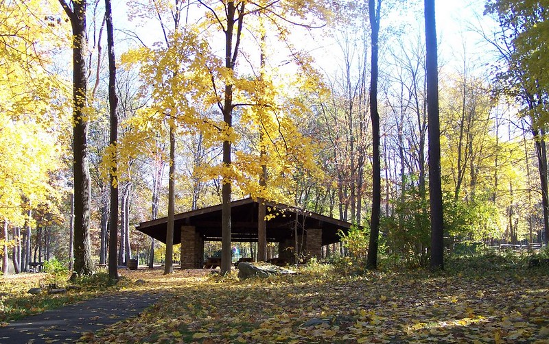 Pavilion #1 in Fall
