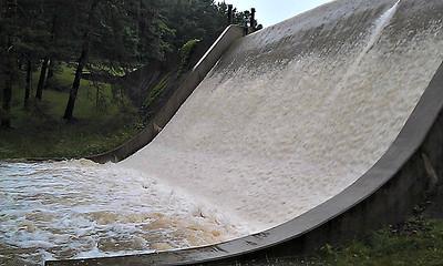 Full Flow at Cummings Dam