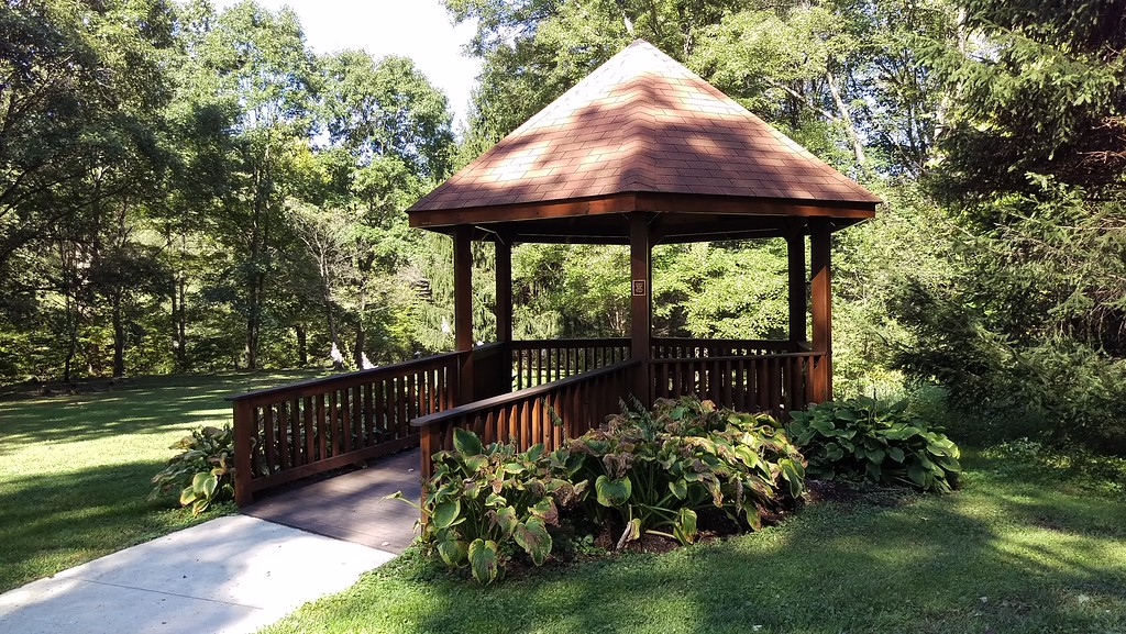Gazebo at Blue Spruce Park