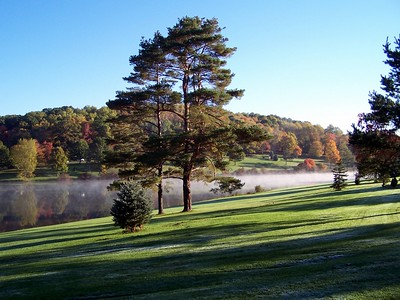 Early Fall sunrise at Blue Spruce Park
