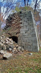 Collapsed Side of Buena Vista Furnace