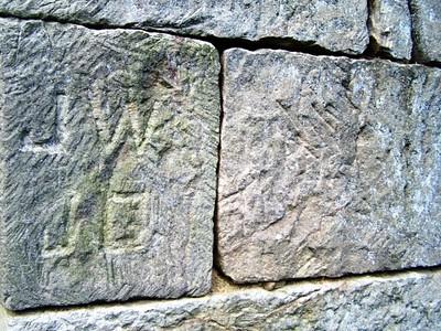 Stone Initials at Buena Vista