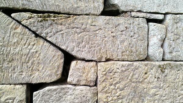 Stone Pattern at Buena Vista Furnace
