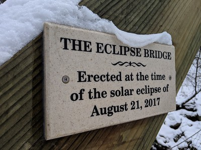 The Eclipse Bridge in Winter