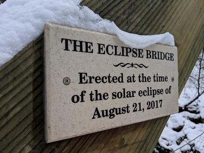 The Eclipse Bridge in Winter