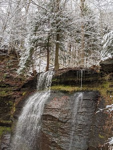 Buttermilk Falls  - December 5, 2019