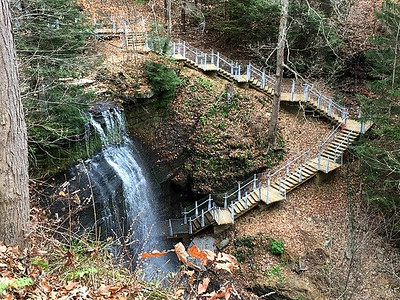 Buttermilk Falls Access Project - 2017