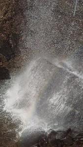 Hint of a Rainbow at Buttermilk Falls