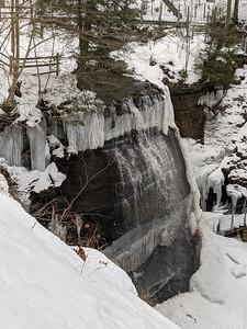 Buttermilk Falls - February 24, 2921