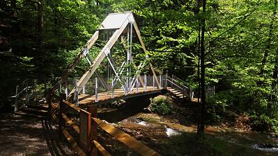 Eclipse Bridge at Buttermilk Falls, Indiana County PA