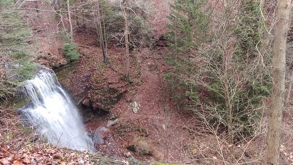 Buttermilk Falls - First Day of December 2016
