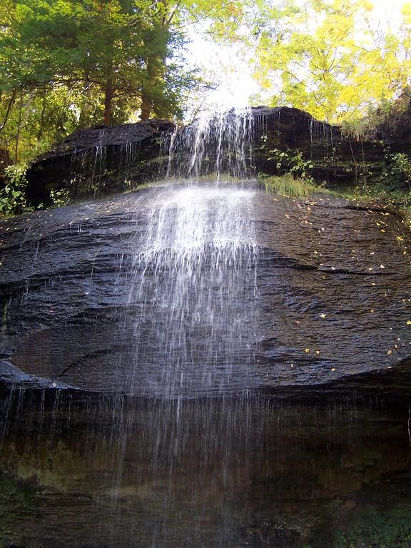 Summer Flow at Buttermilk Falls