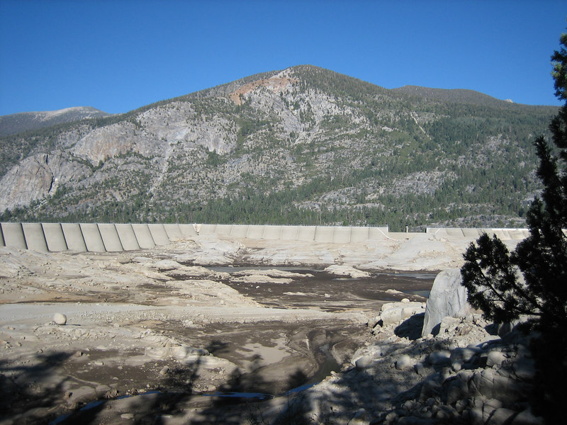 Florence Lake Drained