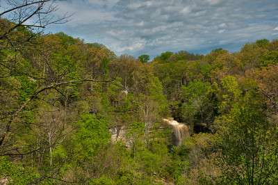 From the observation deck, Little Clifty Falls.