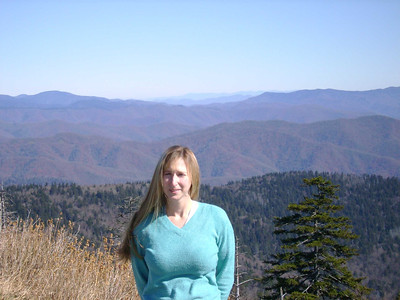 Kelly at Clingmans Dome